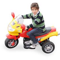 Moto Elétrica Speed Chopper Vermelha Homeplay