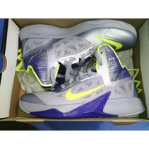 Nike Zoom Hyperfuse 2014 Plateadas Talla Usa 8 Eur 41 Usadas
