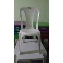 Cadeira Plastica Bistrô 120 Kg Inmetro