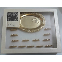 Arras Matrimoniales Chapa De Oro 14kt Envio Gratis
