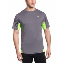 Franela Heatgear Flyweight Run Talla L Under Armour