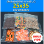 Embalagens Sous Vide 25x35 - 100 Unidades
