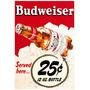 Afiches Vintage Cervezas Y Personalizados Glasse 48 X 33 Cm