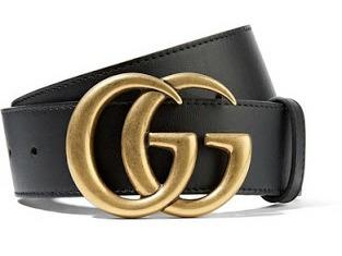 Cinta Couro Cinto Gucci Guti Gutti Preto Masculino Promoção - R  99 f8932e4dcd8