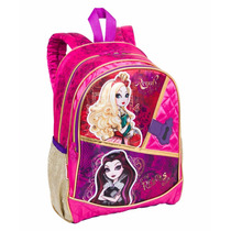 Mochila Infantil Menina Costas Escolar Ever After High 64313