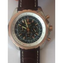 Bentley Motors Chronometre Alta Qualidad Quartz Frete Grátis