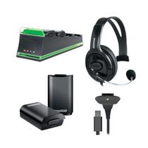 Kit De 5 Acessórios Essenciais Para Xbox 360 - Dreamgear
