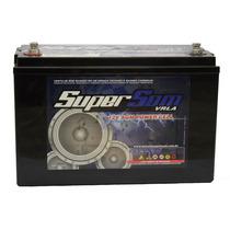 Bateria Super Som 120 Ah Gel Taramp´s Banda