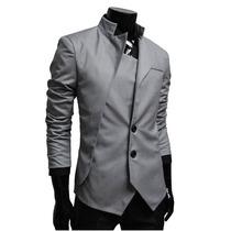 Saco Blazer Elegante Hombre Entallado Slim Fit Casual Formal