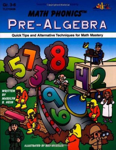 Pre-álgebra De Matemáticas Fonéticas: Consejos Rápidos Y - $ 826.77 ...