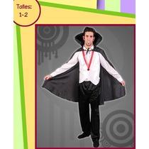 Disfraz Drácul Adulto $ 490 Excelente Calidad En Belgrano !