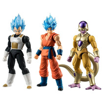 Dragon Ball Shodo Pack Bandai Goku Vegeta Freezer Articulado