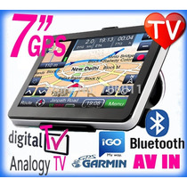 Gps 7 Hd 8gb Sistem Igo Garmin Xt Tv Digital Bluetooth Mapas