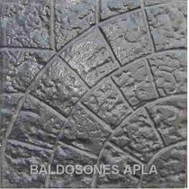 Baldosones Y Simil Lajas 1ra.calidad - ¡oferta Color Gris !