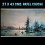 Acuarelas Impresas Gráfica Digital De 27x43 Cms. P/enmarcar.