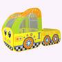 Carpa Infantil Camping Plegable Carro Amarillo Bus 899-163