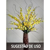 Orquídeas Chuva De Ouro 10 Hastes - Artificiais Artificial