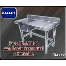 Tarja Industriales Fregadero Lavaloza Lavatrastes 1 Tina 200