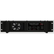 Amplificador Audio Leader Al 3000 Em 4 Ohms 3000 Watts