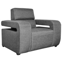 Sala Sillon Individual Mobydec Muebles Sofa Suiza