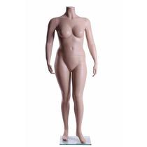 Maniqui Mujer Talla Extra Cuerpo Sin Cabeza Fibra De Vidrio