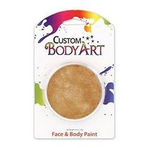 Body Art Personalizada Grande 18ml Pintura De Cara Metálico