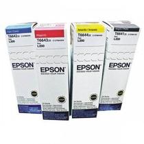 Tintas Originales Epson L200 L210 L110 L355 L555