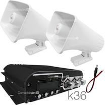 Kit Publidifusion 3 Perifoneo Estereo Mp3/usb 1400w K 36