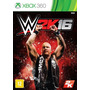 Wwe 2k16 W2k16 Xbox 360 Mídia Física Novo Lacrado Rcr Games