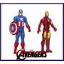 Avengers Iron Man - Capitan America Muñeco De 30 Cm - Hasbro