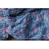 Pantalon Floreado Talle 10 Corderoy