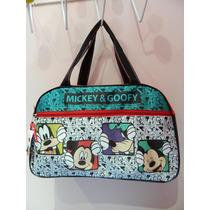 Bolso Mickey Grande Natacion Picnic Mama Bebe Disney Pluto