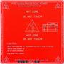 Mesa Cama Caliente Mk2b 12v/24v Impresora 3d Prusa Reprap