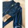 Camisa De Jeans 47 Street. Con Tachas. Líquido, Promo Ultima