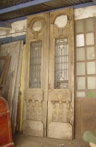 Puertas de madera antiguas puertas interior dobles for Como restaurar puertas de madera antiguas