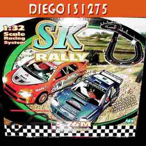 Scalextric Pista De Autos Rally (comp) 4x4- Luces - 12 V.