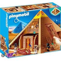 Playmobil Egito - Grande Pirâmide Egípcia - 4240 Cxlacrada