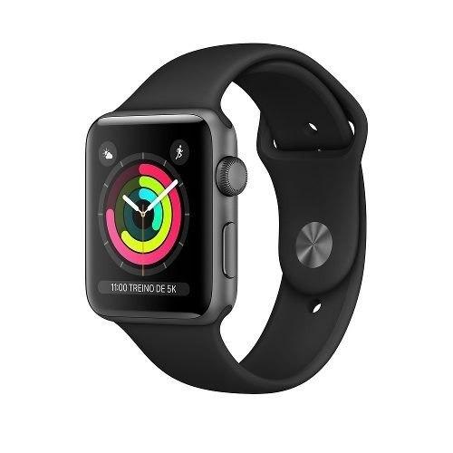 f1beabdf514 Apple Watch S3 Relogio Series 3 Com Gps 42mm - R  1.689