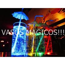 Vasos Luminosos Led X 50 Unidades. Fluo - Cotillon - Eventos