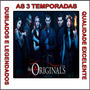 Dvd The Originals 1ª A 3ª Temporada Dublado Serie