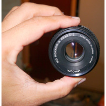 Lente Minolta Rokkor-x 45mm F/1.2 + Tubo Extensor Micro 4/3