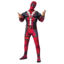 Disfraz Deadpool De La Película Nuevo Modelo Adulto Hombre