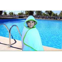 De Toalla 100% Algodon Salidas De Baño Para Niños O Alberca