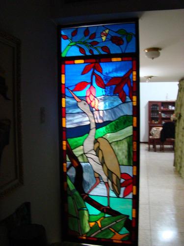 Paraban en vitral vidrio espectrum glass decoracion de - App decoracion hogar ...