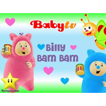 Kit Imprimible Billy Bam Bam Babytv Invitaciones Fiesta