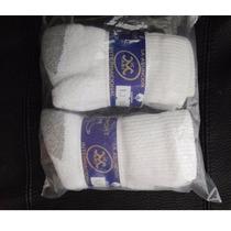 Docena De Calcetines Para Niño Blancos Excelente Calidad 12