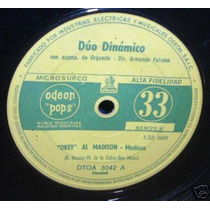 Duo Dinamico Vamos A Bailar Madison Vinilo Simple Argentino