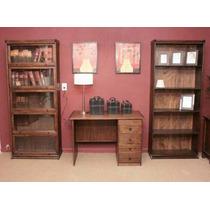 Biblioteca De Roble Tipo Thompson #### 4 Puertas