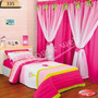Cortina Dormitorio Dulce Rocio Infantil Para Kit Nenes Nenas