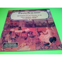 Disco Lp Franz Schubert Quinteto En Do Mayor Musica Clasica